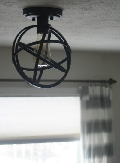 Quick Restyle: New light fixture