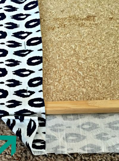 Quick Restyle| DIY Memo Board