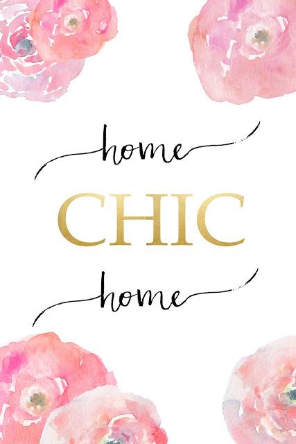 Free Printable Home Chic Home
