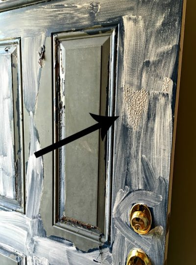Stripping our front door| The Good, The Bad, and The Ugly