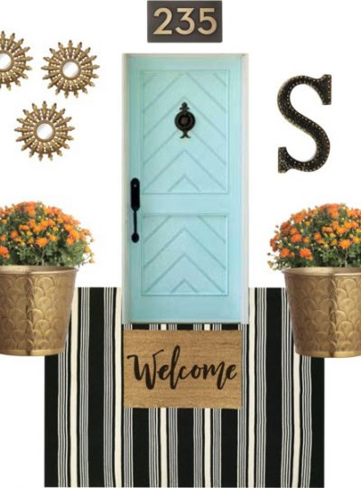 Fall & Chic Front Porch| And A GIVEAWAY!