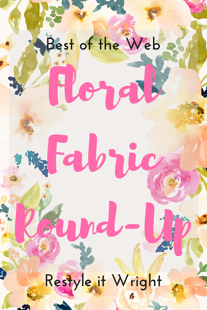 Round up of the best floral fabrics