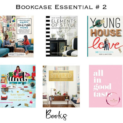 how to style a bookcase with 5 essential pieces