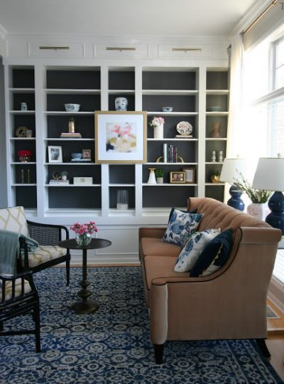 One Room Challenge| Formal Living Room REVEAL