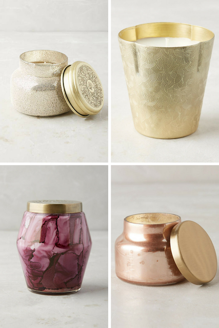 DIY remove wax and foil from anthropologie capri blue candle