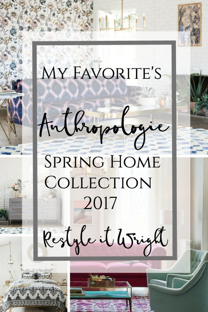 anthropologie spring collection house and home filled with inspiration