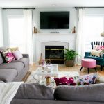 Family Room Room Home Tour| Before and After