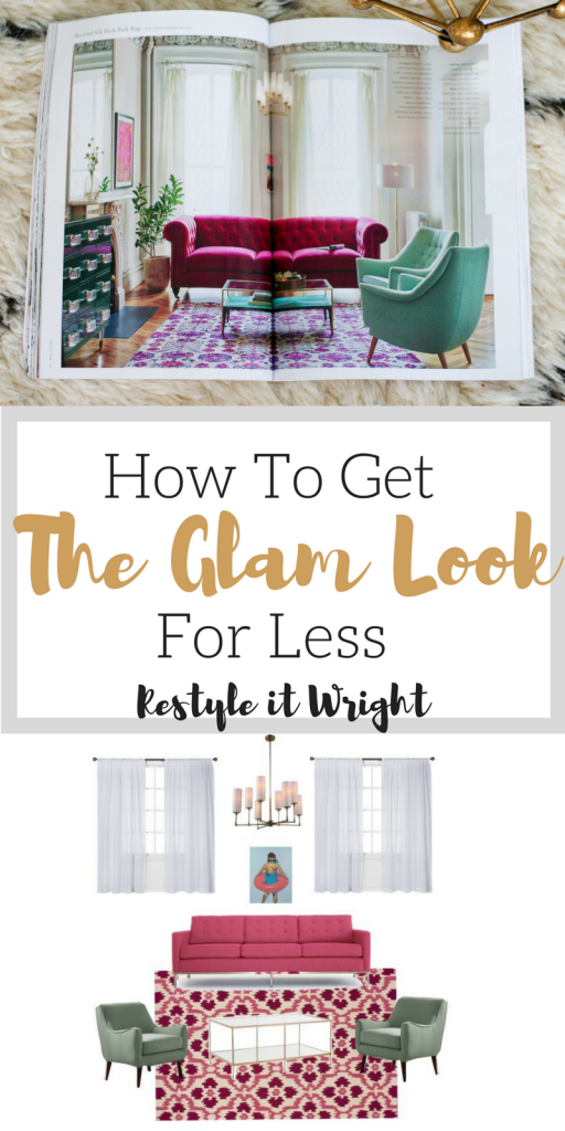 how to get the glam look for less on a budget