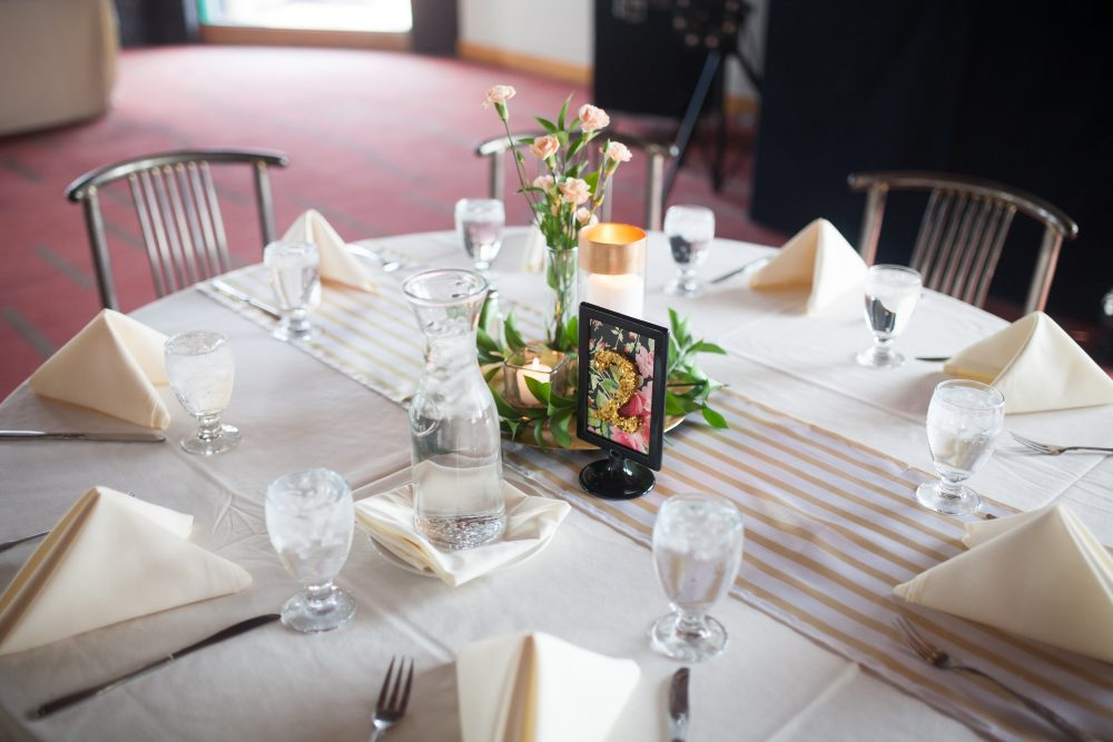DIY budget friendly table numbers wedding decor ideas for cheap table numbers using ikea frame and paper wedding inspiration