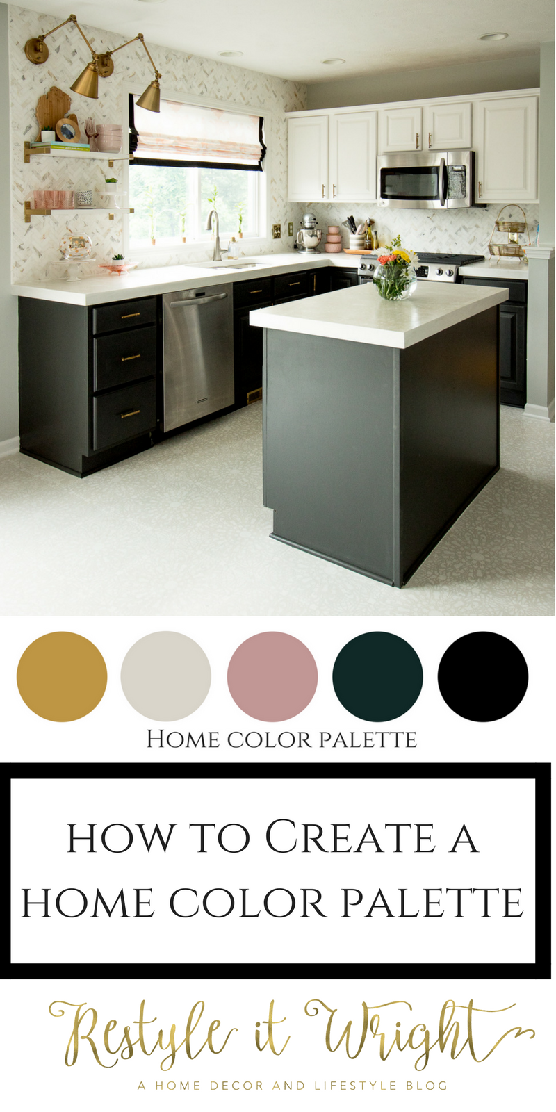 how to create a home color palette