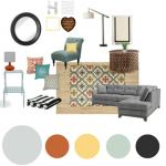Hart of the Home| Mood Board Monday
