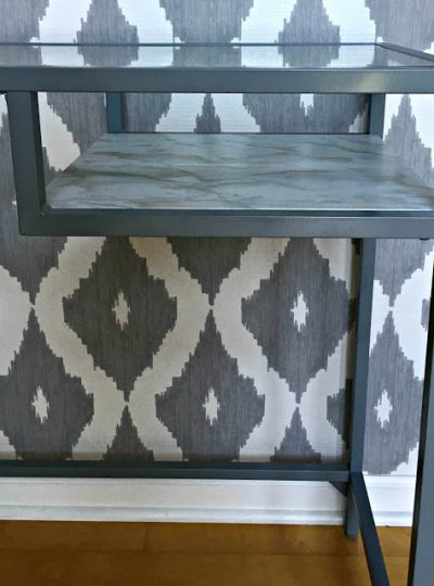 Ikea Vittsjo Hack| Entryway Table