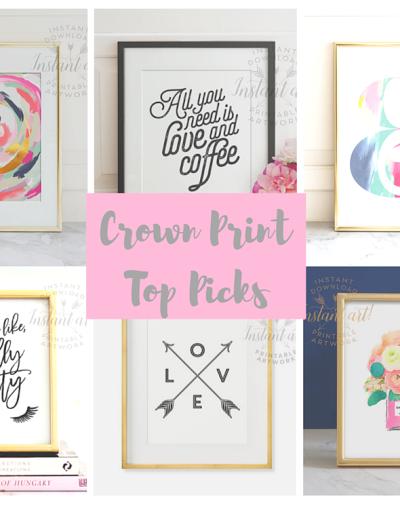 Crown Art Prints & A Giveaway!!