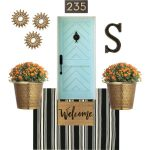 Fall & Chic Front Porch  And A GIVEAWAY!