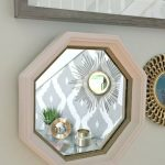 A Quick and Easy DIY  Gold & Chic Mirror