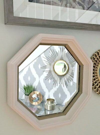 A Quick and Easy DIY| Gold & Chic Mirror