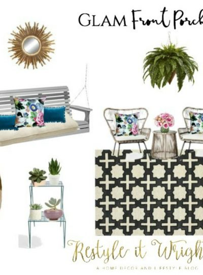 Mood Board Monday| Glam Front Porch